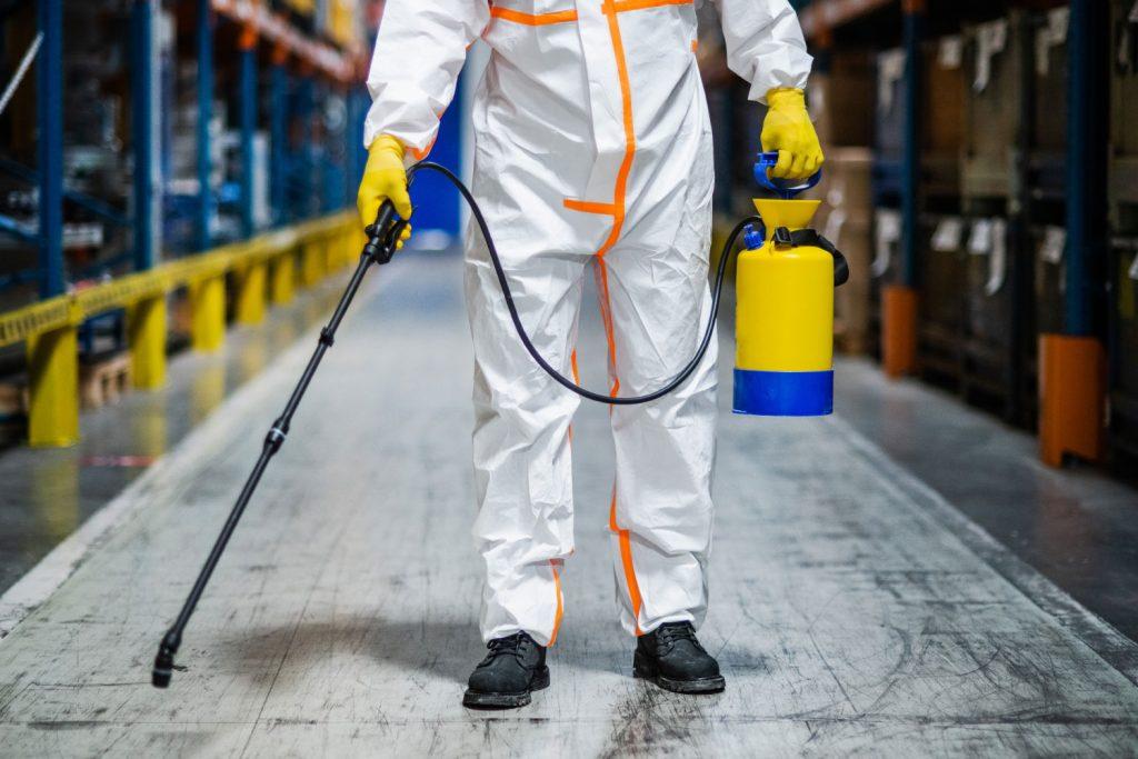 Limpeza Industrial na pandemia: benefícios além da saúde